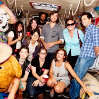 Paper Heart Party Bus Adventure on August 6, 2009