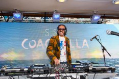 DJ Harvey spinning on the S.S. Coachella