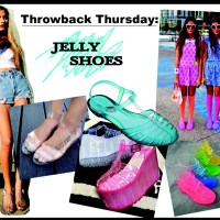 STYLE: Throwback Thursday 80s Jelly Shoes