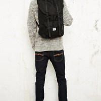 STYLE: Black on Black Travel Backpack by Herschel