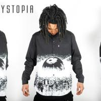 STYLE: Black and White Graphic Button Up by Mishka