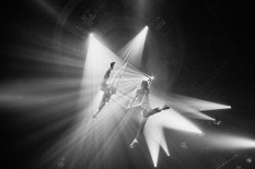 Aerialists perform at Gotham at Webster Hall on July 16, 2016