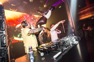 Borgore & Getter perform at Girls & Boys presents Electric Zoo: Wild Island Official After Party at Webster Hall on September 3, 2016