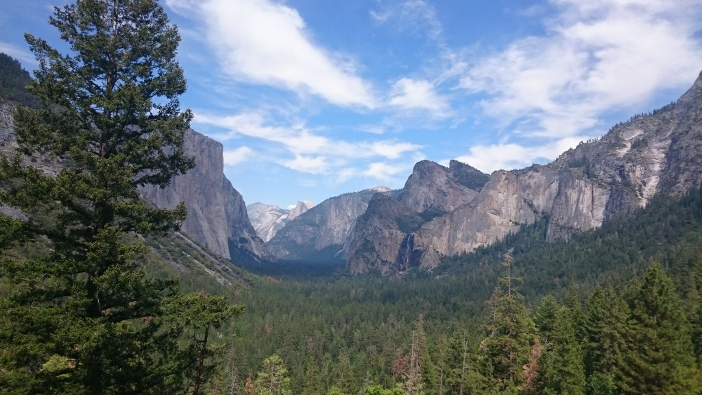 Yosemite Valley from Inspiration Point.