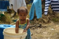 A young girl in Preah Vihear Refugee Camp in 2011