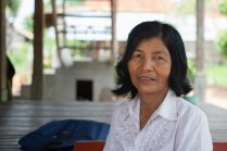 Tin Kimsun, commune councillor in Moung Thbon. Nicky Sullivan