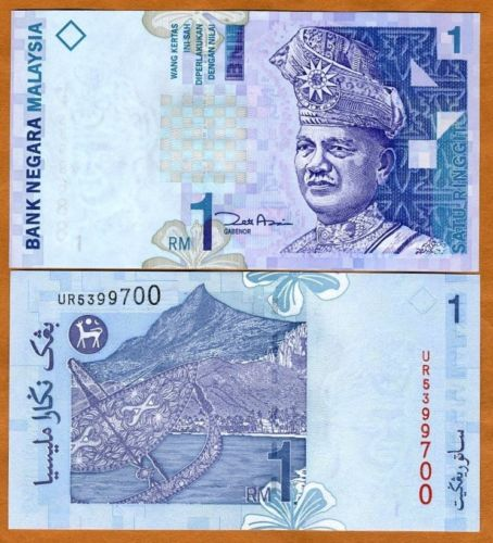 Product Category: Malaysia Banknotes |