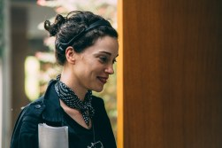 "Director Annie Clark, on the set of ""The Birthday Party"" in XX, a Magnet release. Photo courtesy of Magnet Releasing."