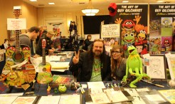 Guy Gilchrist at the NorthEast Comic Con