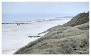 Sylt – der Strand bei Wenningstedt