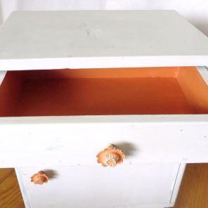 Annie Sloan Chalk Paint Barcelona Orange und Old White