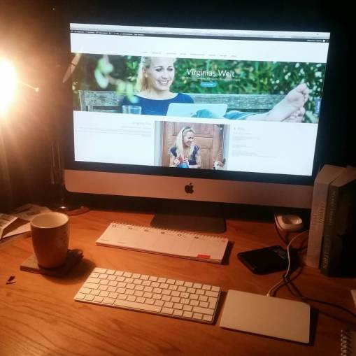 Die Website von mainwunder-Autorin Virginia Fox