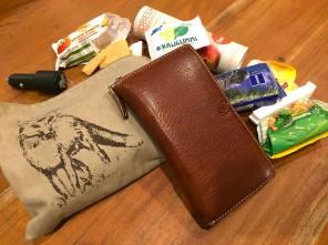Tasche Inhalt Portemonnaie