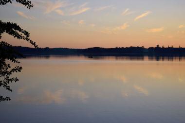 Romantik am See, die Dritte Käbelick See