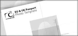 EU & K Photoshop Passport Photo Template
