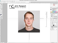 Photoshop Passport Template