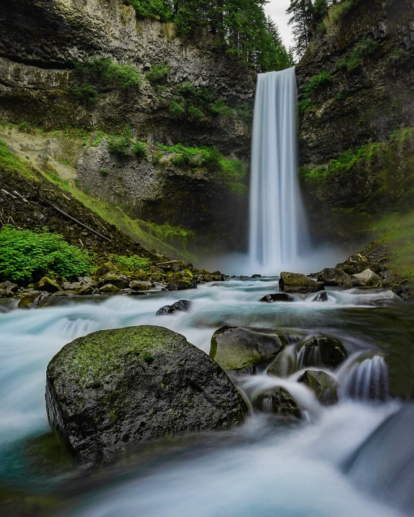 Brandywine Waterfall Bottom - Photo by Nico Babot