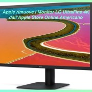 Apple Rimuove Monitor LG UltraFine 4K
