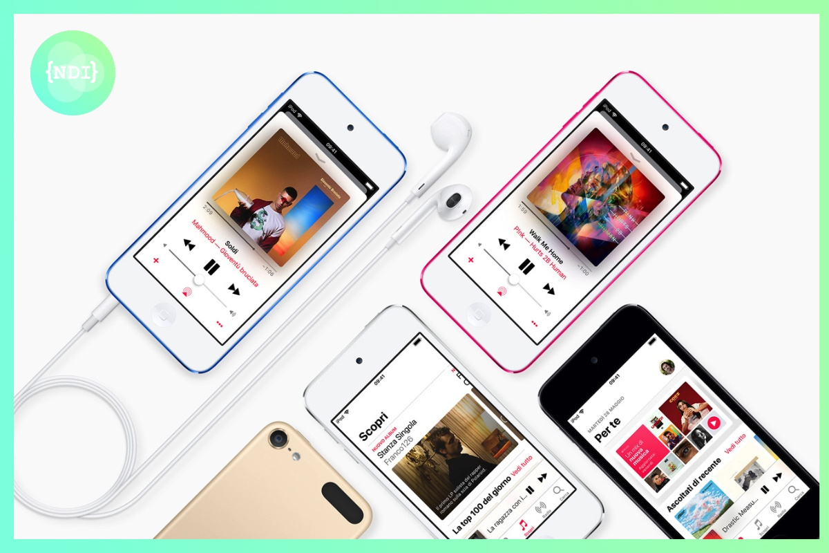 Apple presenta il nuovo iPod Touch