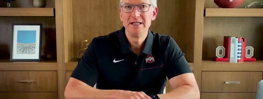 Tim Cook Ohio State Commencement