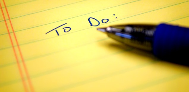 Want To Build A Habit? Build A List First.
