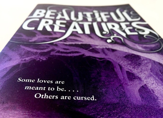 Tagline on Beautiful Creatures Book Cover. Photo by Nicola Alter (CC BY SA 4.0)