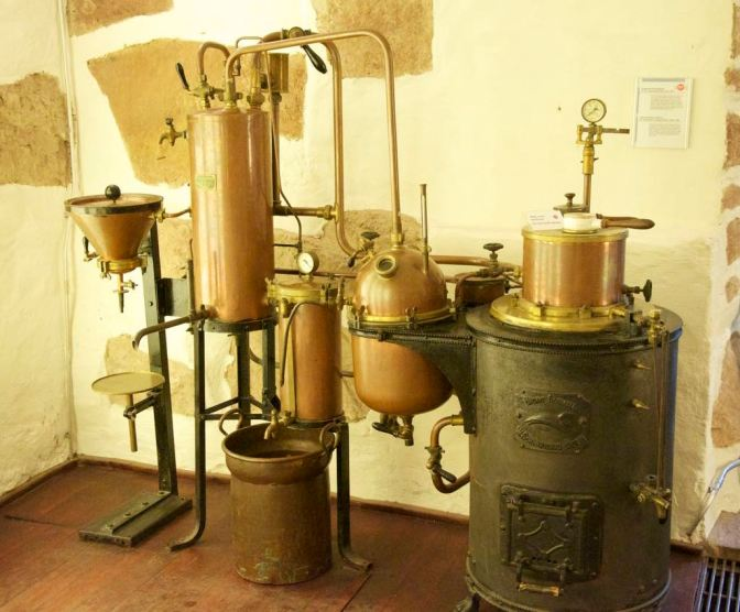Image: Old Distillery at the German Pharmacy Museum