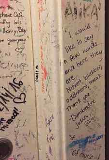 Graffiti: I would like to say a few words...