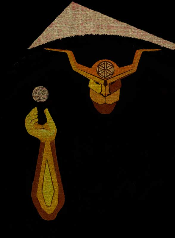 illustration shaman mystery mammuthones sardinia sardegna magic magazine publication publishing