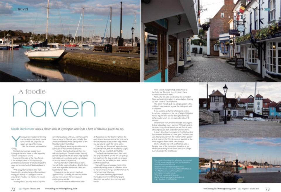 Etc magazine - Hampshire October 2013 issue