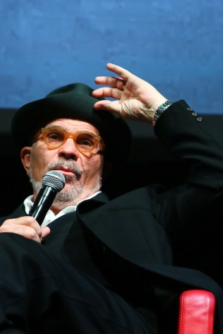 ROME, ITALY - OCTOBER 18: David Mamet meets the audience during the 11th Rome Film Festival at Auditorium Parco Della Musica on October 18, 2016 in Rome, Italy. (Photo by Ernesto Ruscio/Getty Images) *** Local Caption *** David Mamet