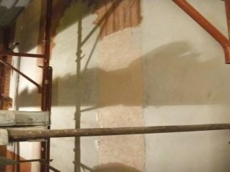 Impacchi antisale con diatomite parete nord