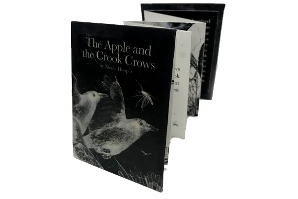The Apple and the Crook Crows Citronella Artist Book