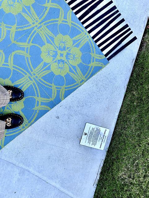 Carpet Pathway Public Art Project Logan City Council