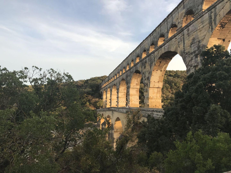 Pont du Gard. Pic @jabberingjourno