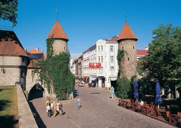 Tallinn, Estonia. Pic by @jabberingjourno