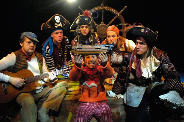 Cast of Treasure Island (promo image)