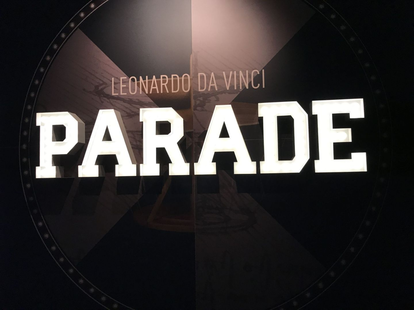 Leonardo da Vinci parade, exhibition at the Museum of Science and Industry, Milan