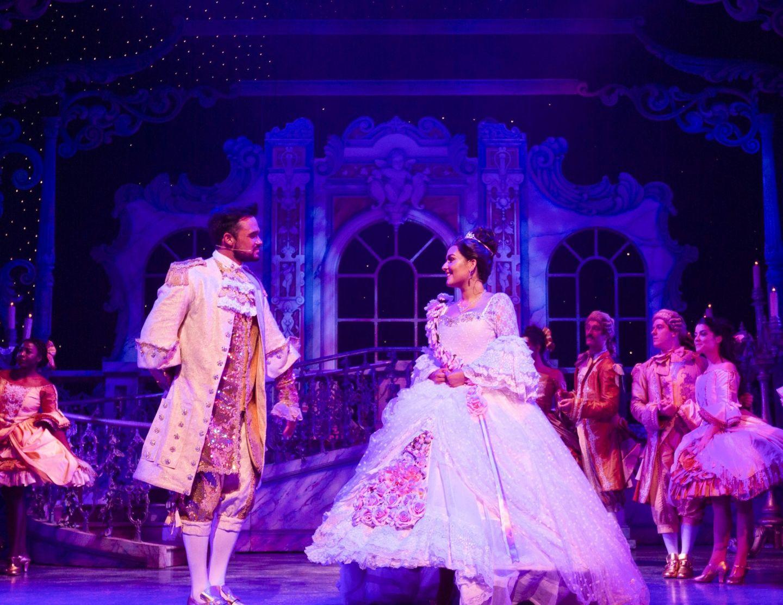 Gareth Gates and Shannon Flynn, Cinderella at Manchester Opera House