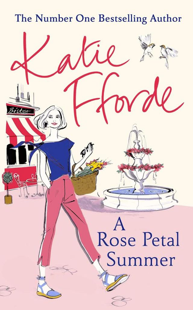 A rose petal summer by Kate Fforde