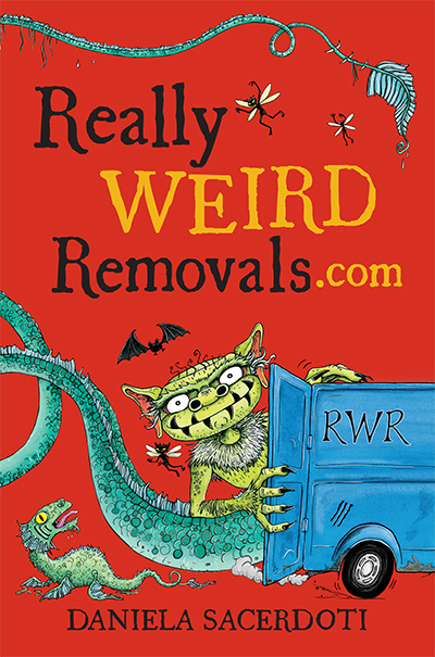 Really Weird Removals.com Cover illustration © Nicola L Robinson