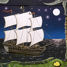 Peter Pan Pop up Book © Nicola L Robinson