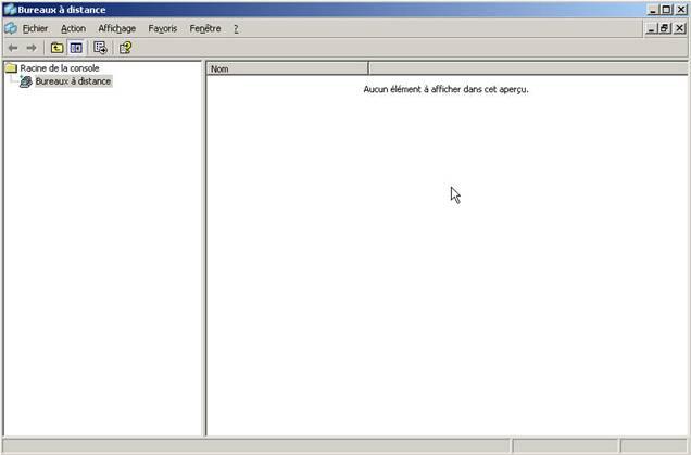 Administration Distance De Windows Serveur 2003