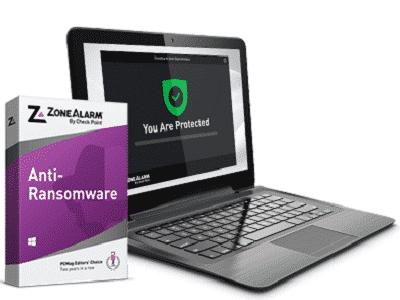 Téléchargez ZoneAlarm Anti-Ransomware