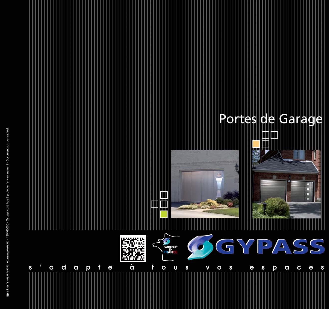 Catalogue Gypass Porte De Garage Sectionnelle Nicolas Gand Sarl