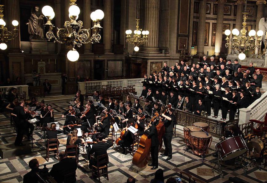 Orchestre Hélios à la Madeleine