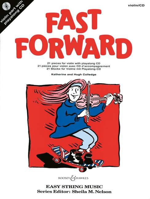 Colledge Fast Forward violon CD