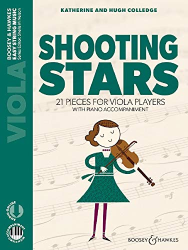 Colledge Shooting Stars alto piano
