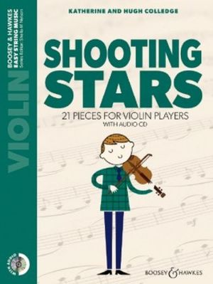 Colledge Shooting Stars violon CD