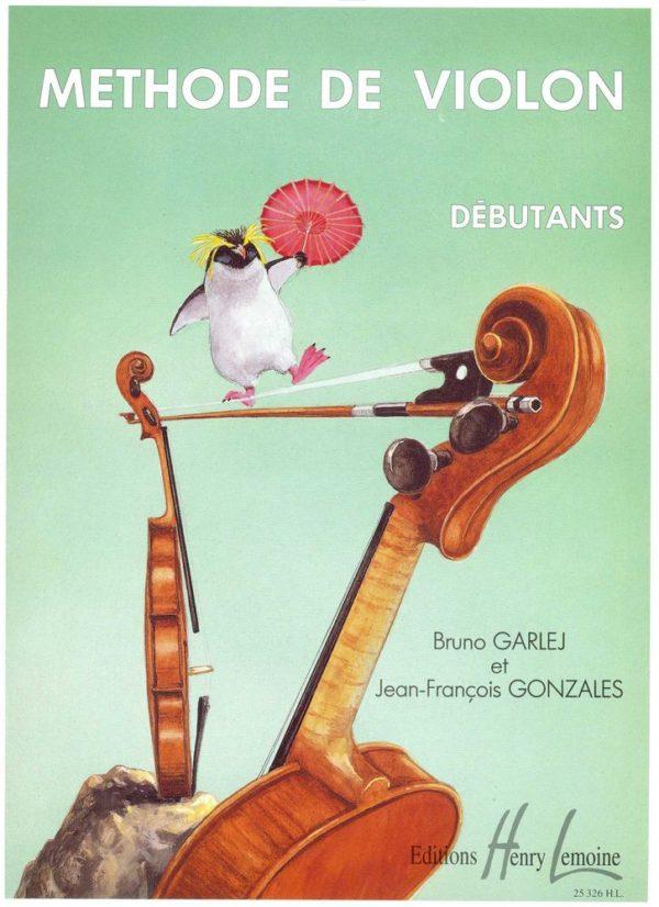 Garlej méthode violon